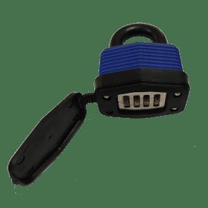 Waterproof laminated padlock
